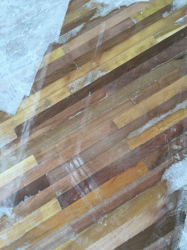 ANTES – Reconstruccion de suelo de Eucalipto – Miguel Rodriguez