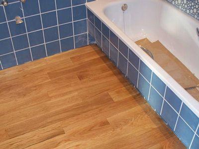 Suelos de madera en baños - Miguel Rodriguez