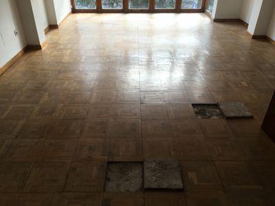 Sustitución piezas suelo de madera - Miguel Rodriguez